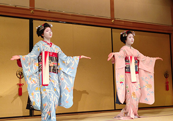 Japanese traditional dances